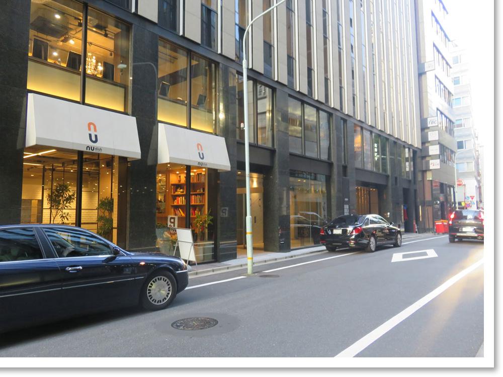 1F 素敵なレストランカフェ(NU dish様) 、2F 有名な美容室(XELHA様)