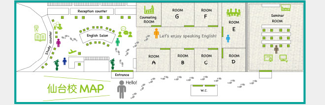 仙台校MAP